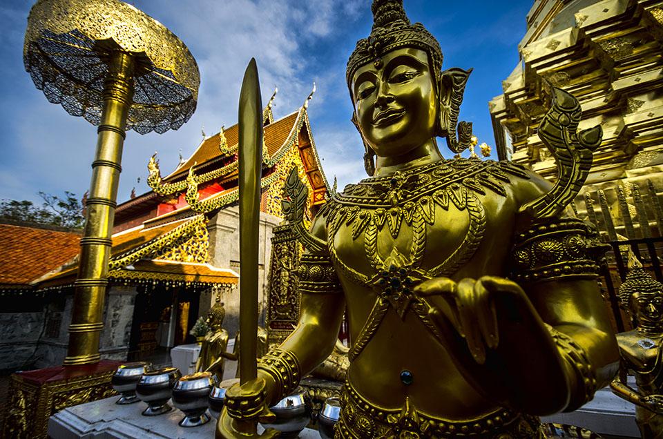 Temple Guard Doi Suthep